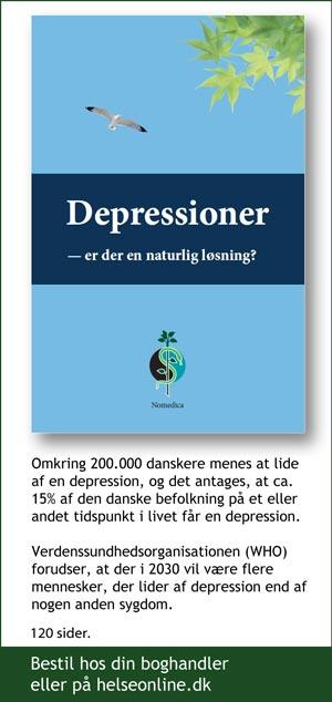Depressioner er der en naturlig løsning, e-bog