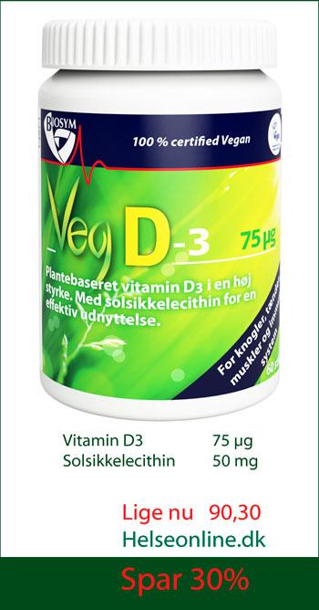 plantebaseret vitamin D3